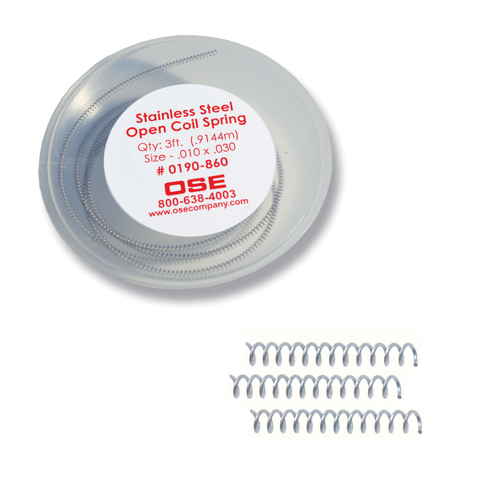 Stainless Steel Open Coil Springs – Orthodontic Supply & Equipment ...