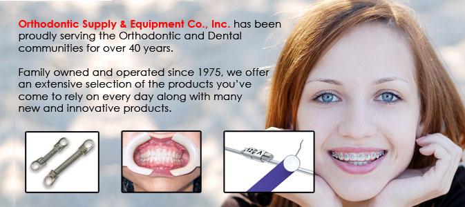orthodontic supply equipment company