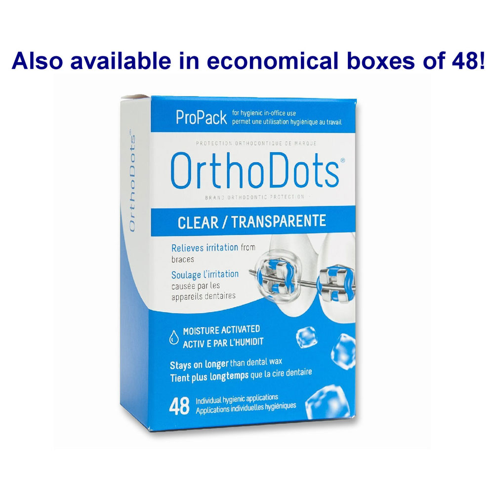 OrthoDots Clear Patient Relief Covers - Orthodontic Supply ...
